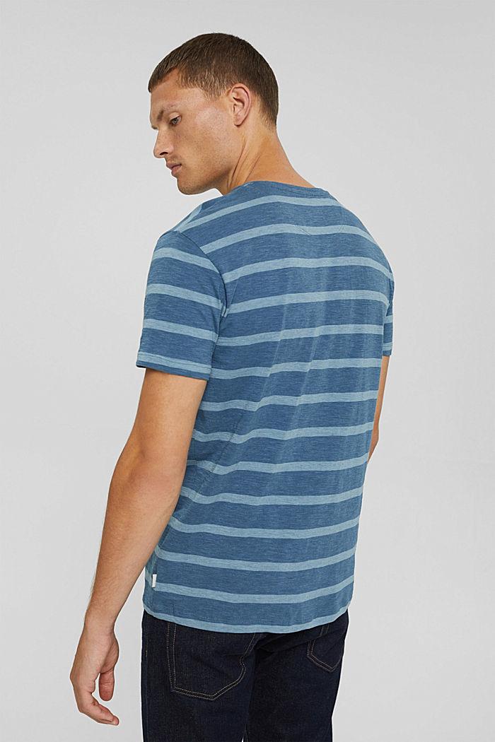 T-shirt en jersey au look rayé, LIGHT BLUE, detail image number 3