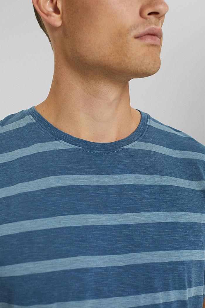 T-shirt en jersey au look rayé, LIGHT BLUE, detail image number 1