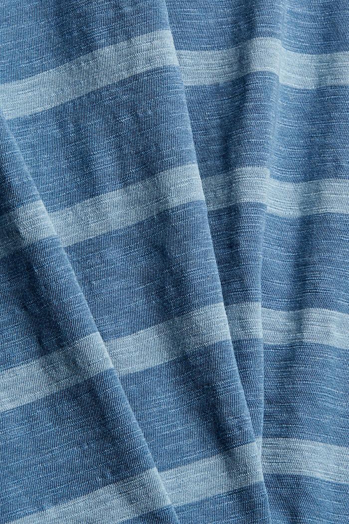 T-shirt en jersey au look rayé, LIGHT BLUE, detail image number 4