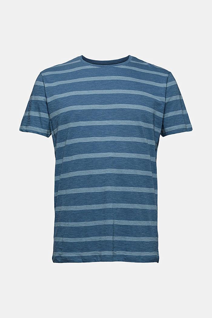 T-shirt en jersey au look rayé, LIGHT BLUE, detail image number 5