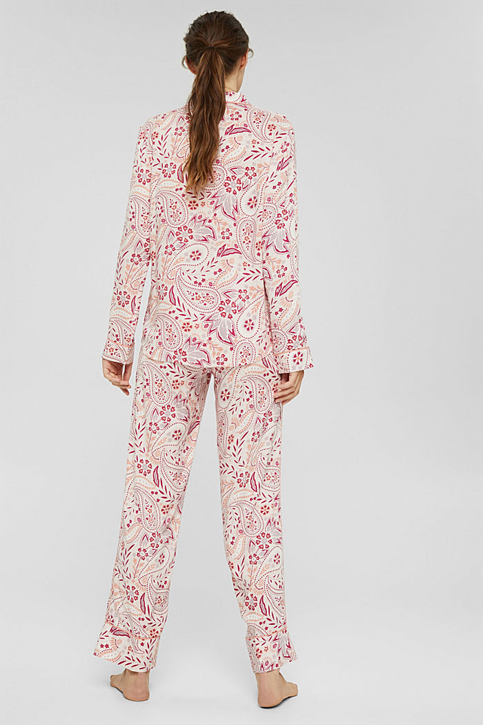 Pyjama aus 100% LENZING™ ECOVERO™, LIGHT PINK, detail image number 2