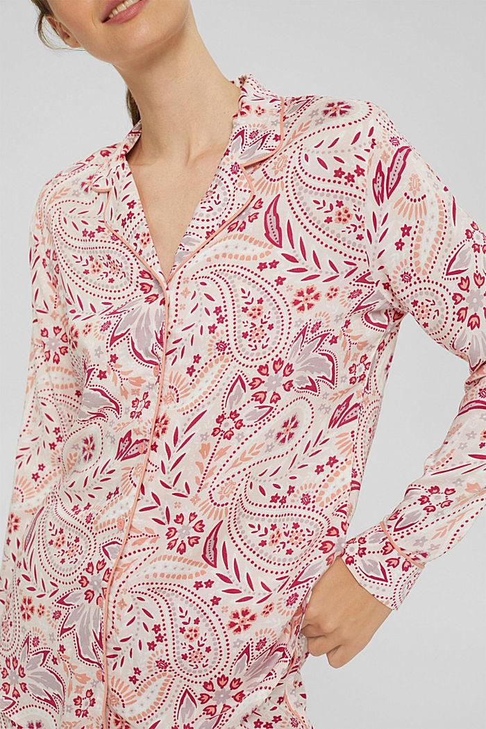 Pyjama aus 100% LENZING™ ECOVERO™, LIGHT PINK, detail image number 3