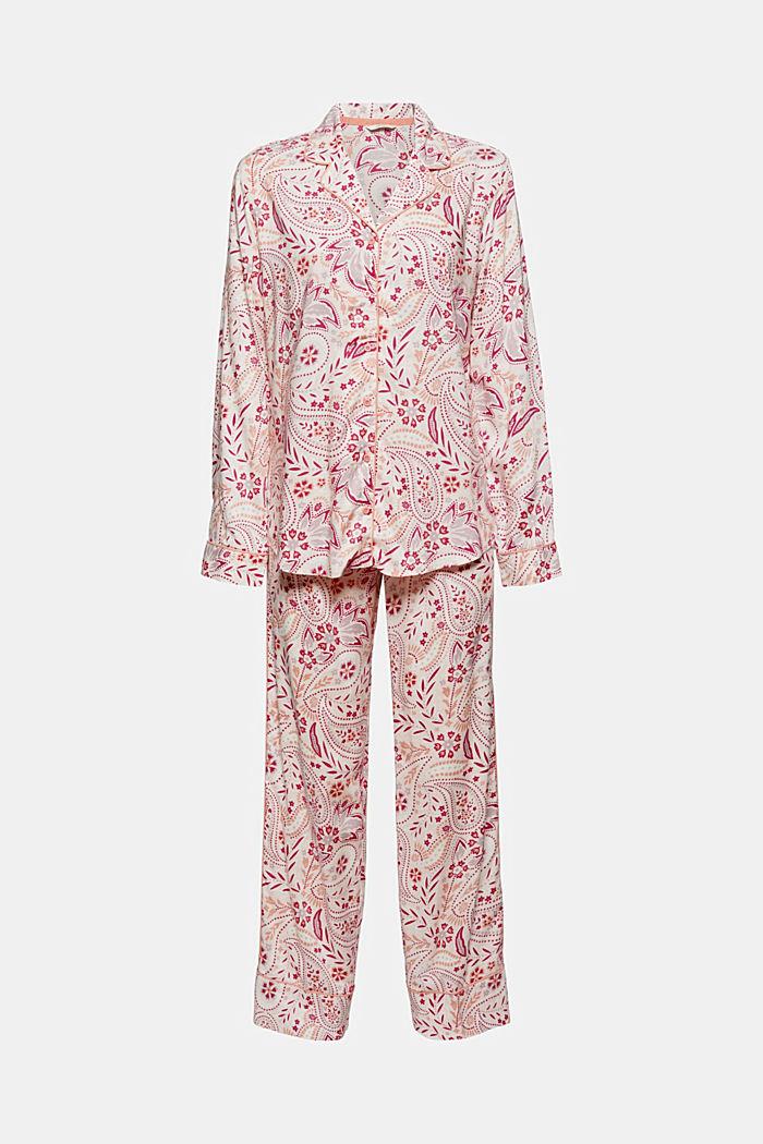 Pyjama aus 100% LENZING™ ECOVERO™