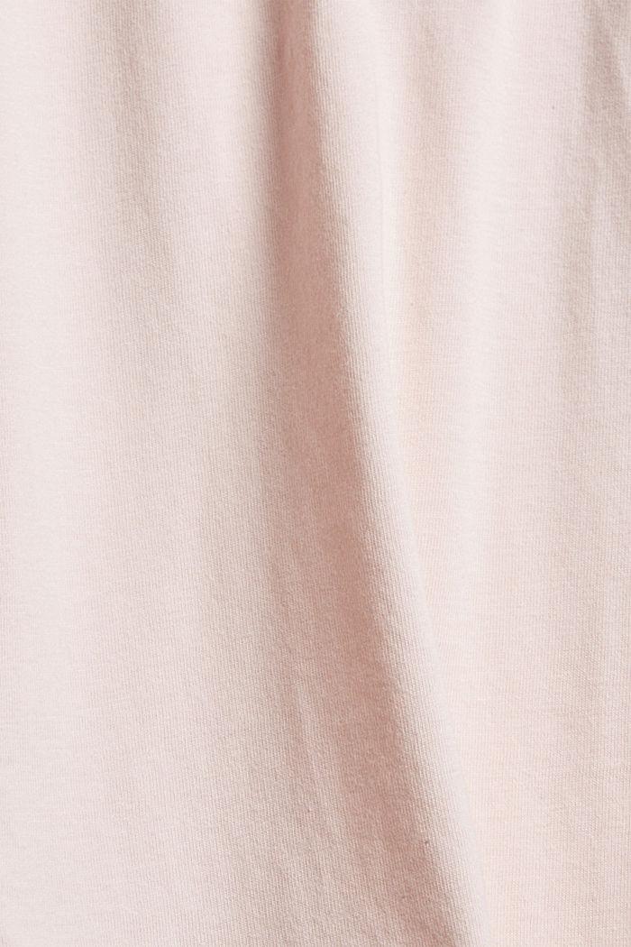 Jersey pyjama van 100% biologisch katoen, LIGHT PINK, detail image number 4