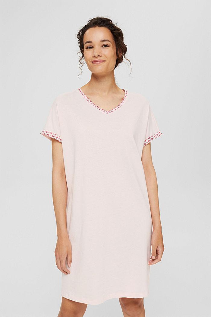 Jersey-Nachthemd aus 100% Organic Cotton