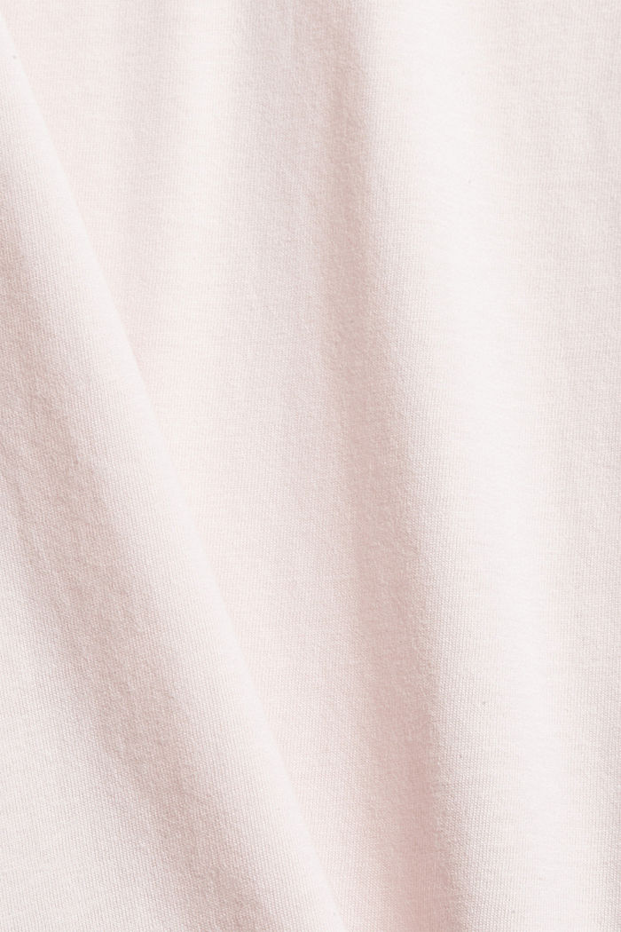 Jersey-Nachthemd aus 100% Organic Cotton, LIGHT PINK, detail image number 4