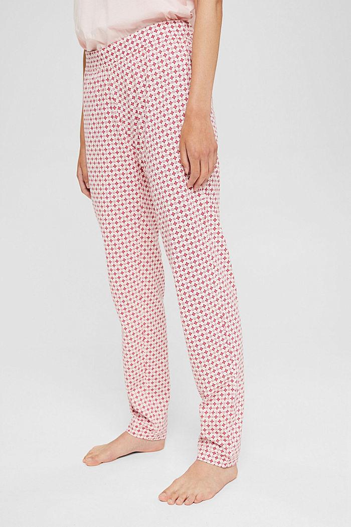 Jersey-Pyjamahose aus Organic Cotton