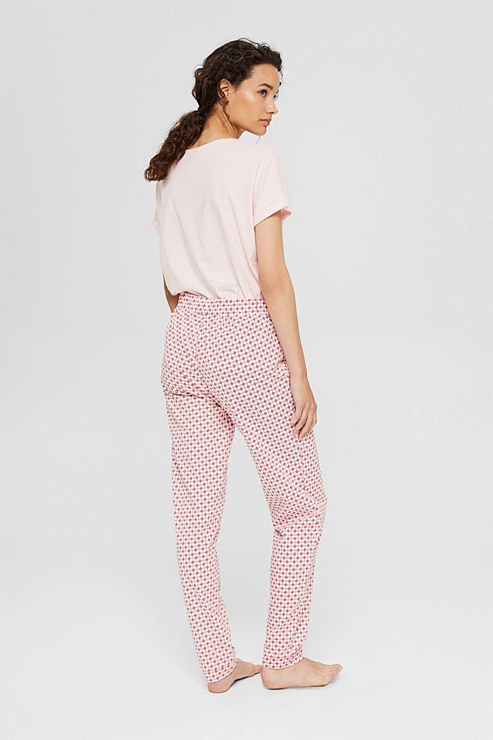 Jersey-Pyjamahose aus Organic Cotton, LIGHT PINK, detail image number 3