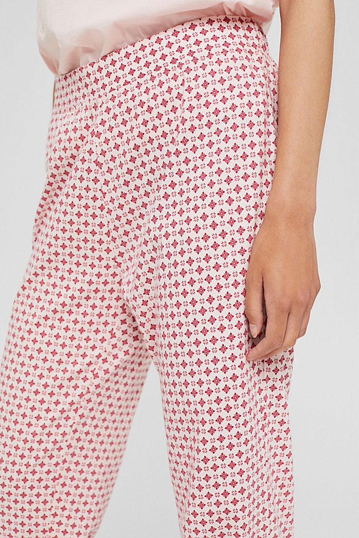 Jersey-Pyjamahose aus Organic Cotton, LIGHT PINK, detail image number 2