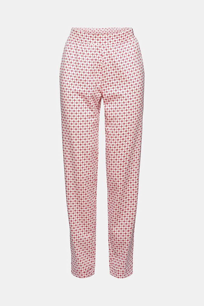 Pantaloni da pigiama in jersey di cotone biologico