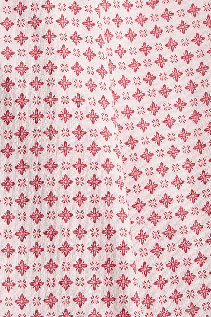 Jersey-Pyjamashorts aus Organic Cotton, LIGHT PINK, detail image number 4