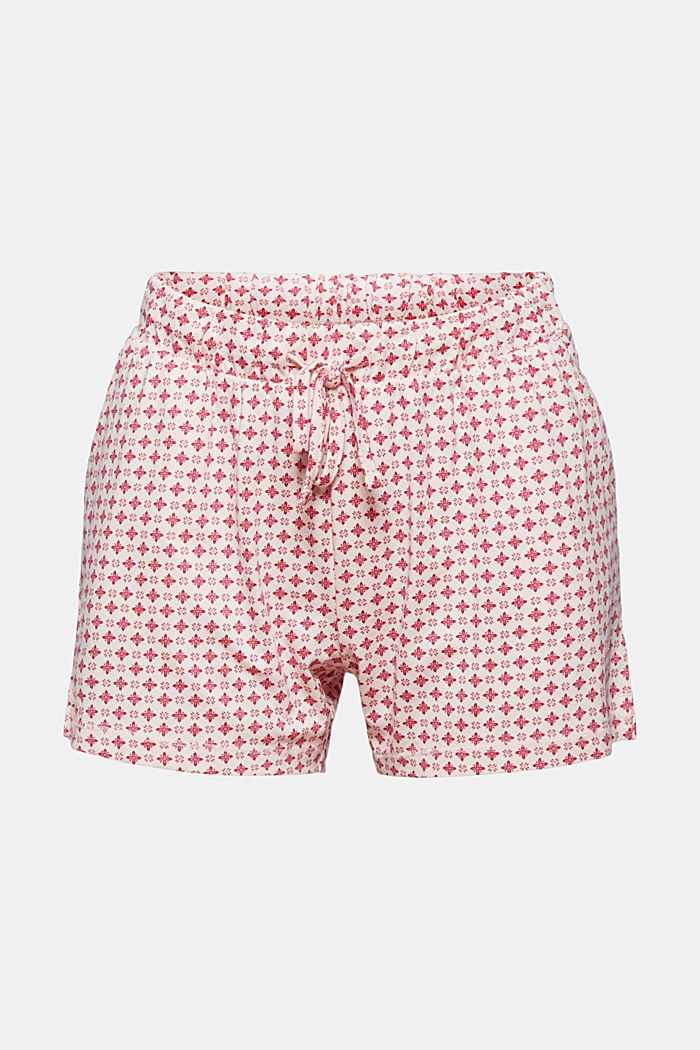 Jersey-Pyjamashorts aus Organic Cotton