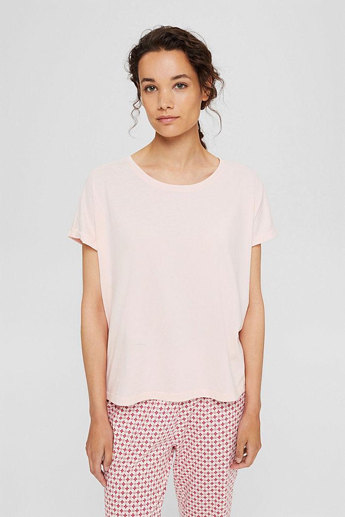 Jersey-Pyjamashirt aus Organic Cotton