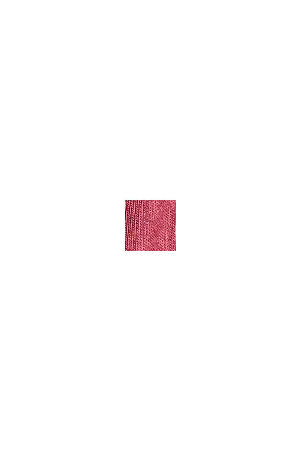 Short jersey pyjamas in LENZING™ ECOVERO™, DARK RED, swatch
