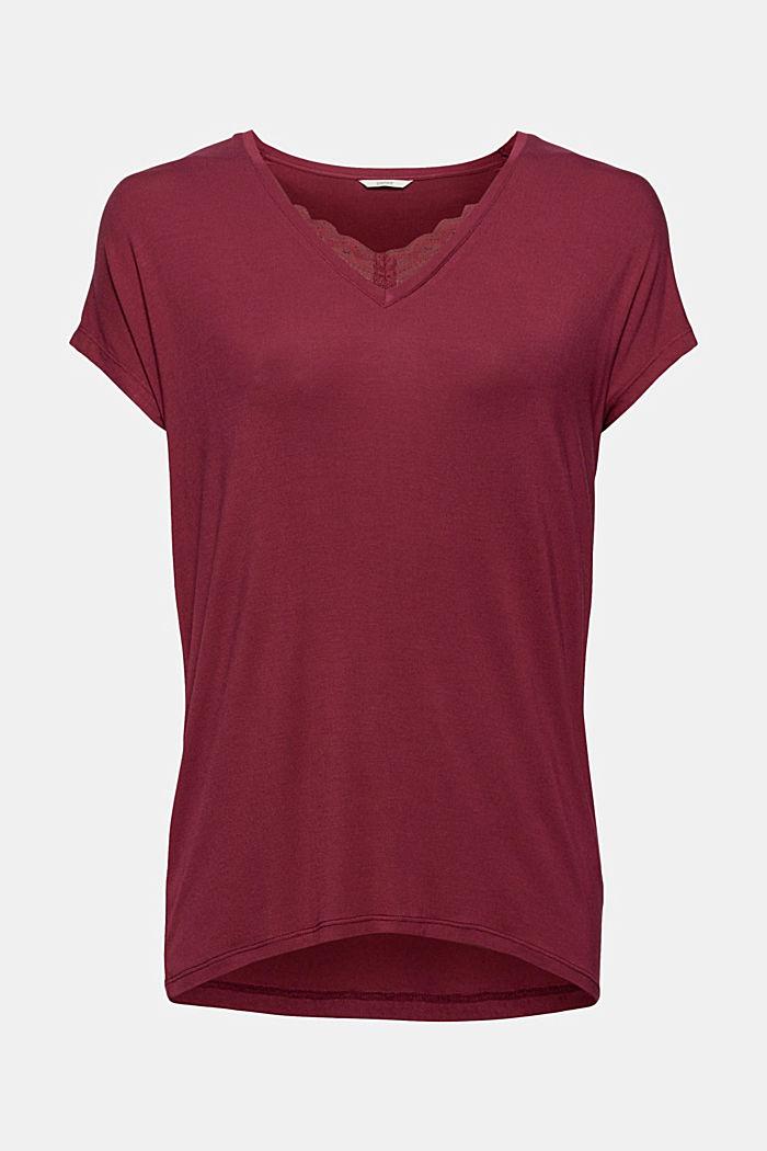 Jersey-Shirt aus LENZING™ ECOVERO™