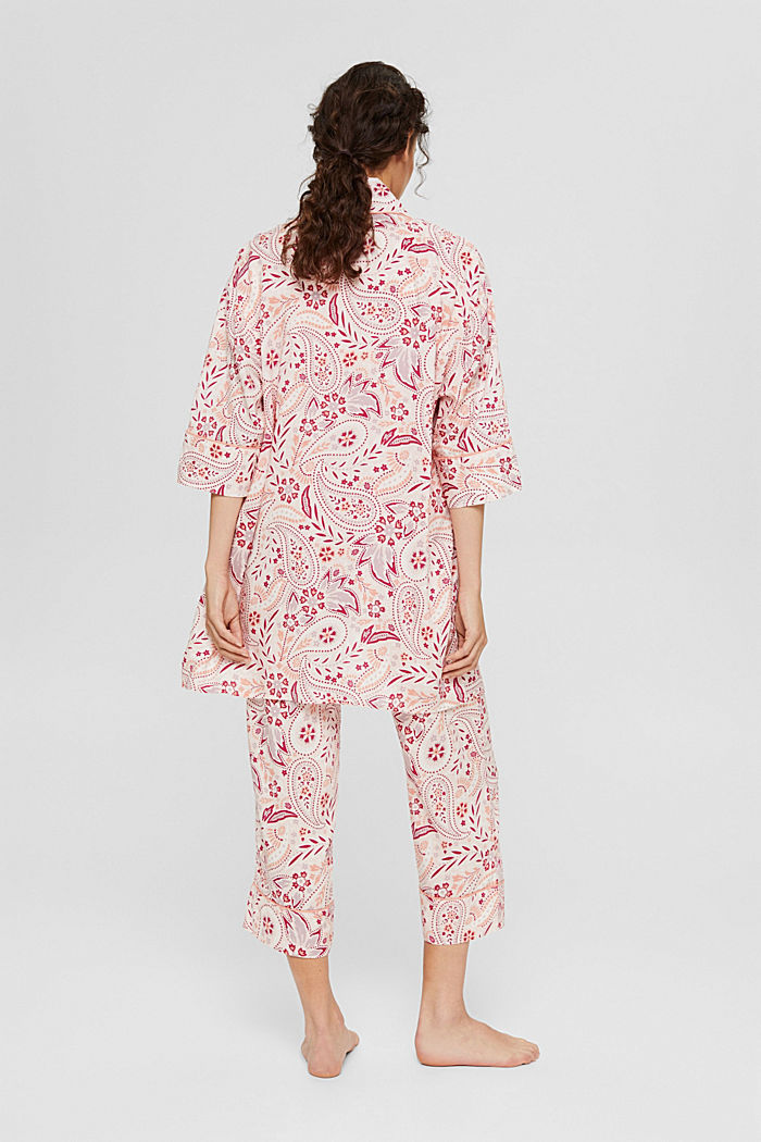 Kimono made of LENZING™ ECOVERO™, LIGHT PINK, detail image number 2