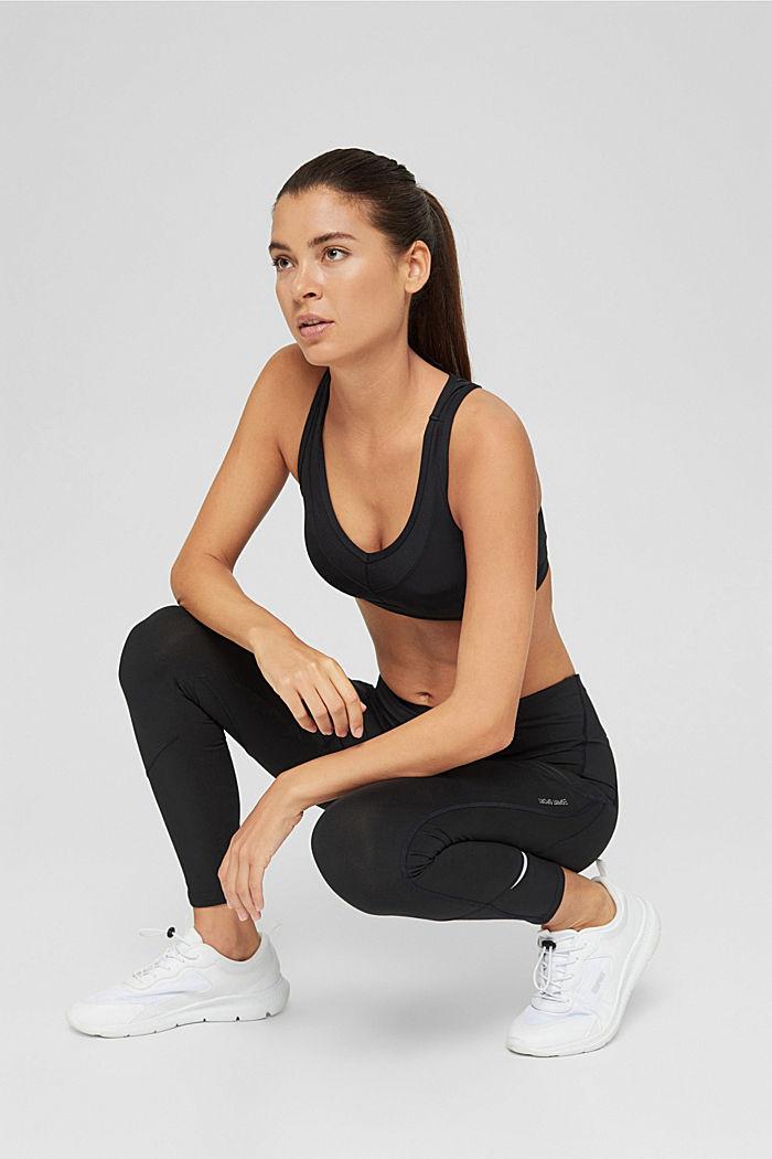 Active-Leggings mit verstecker Tasche, BLACK, detail image number 6