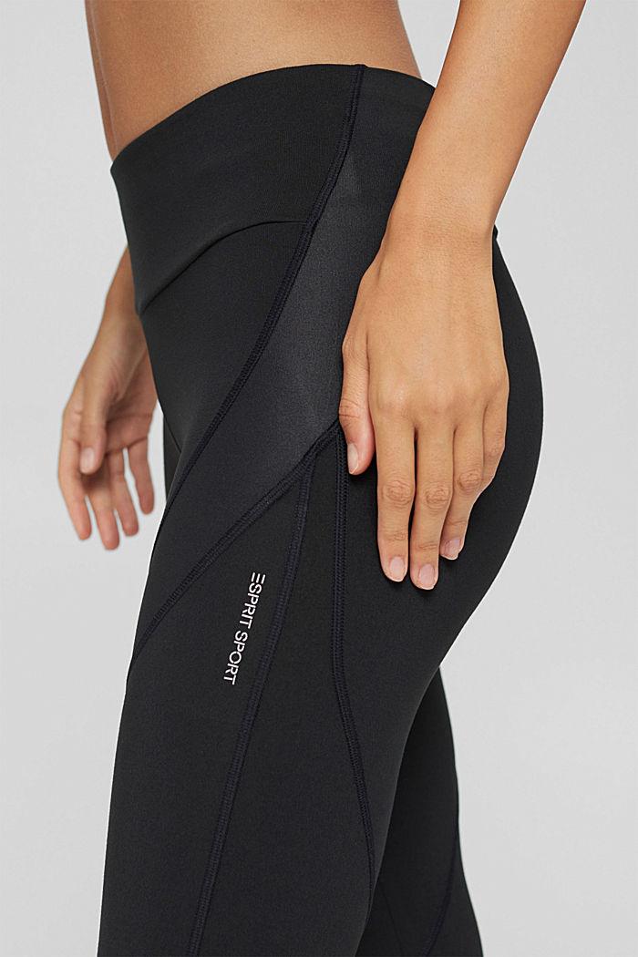 Active-Leggings mit verstecker Tasche, BLACK, detail image number 2