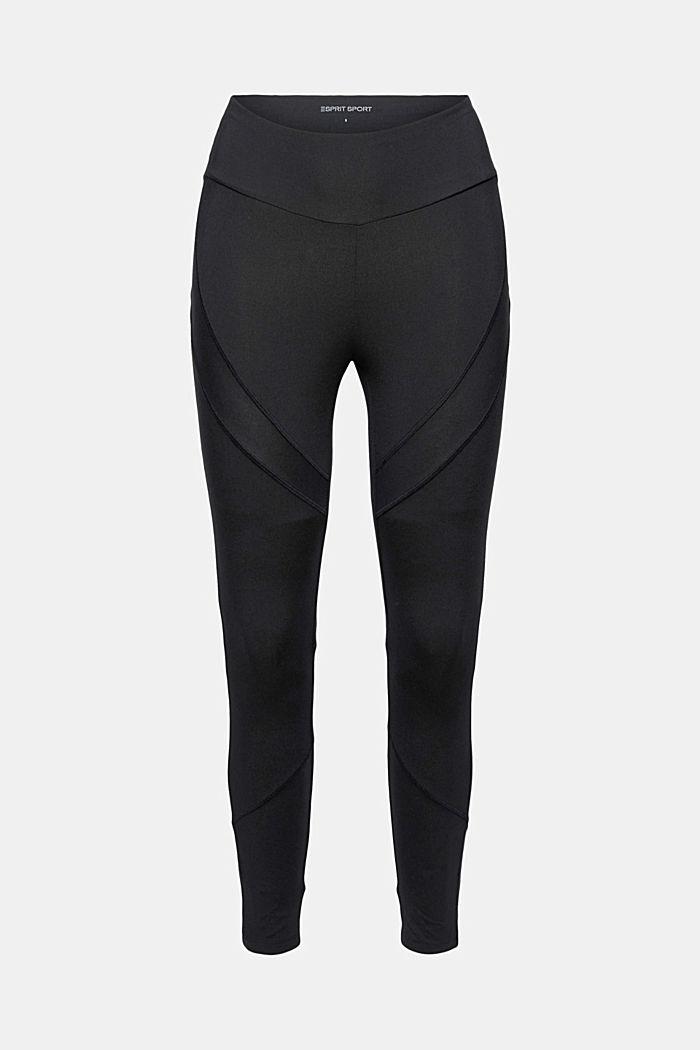 Active-Leggings mit verstecker Tasche, BLACK, detail image number 7