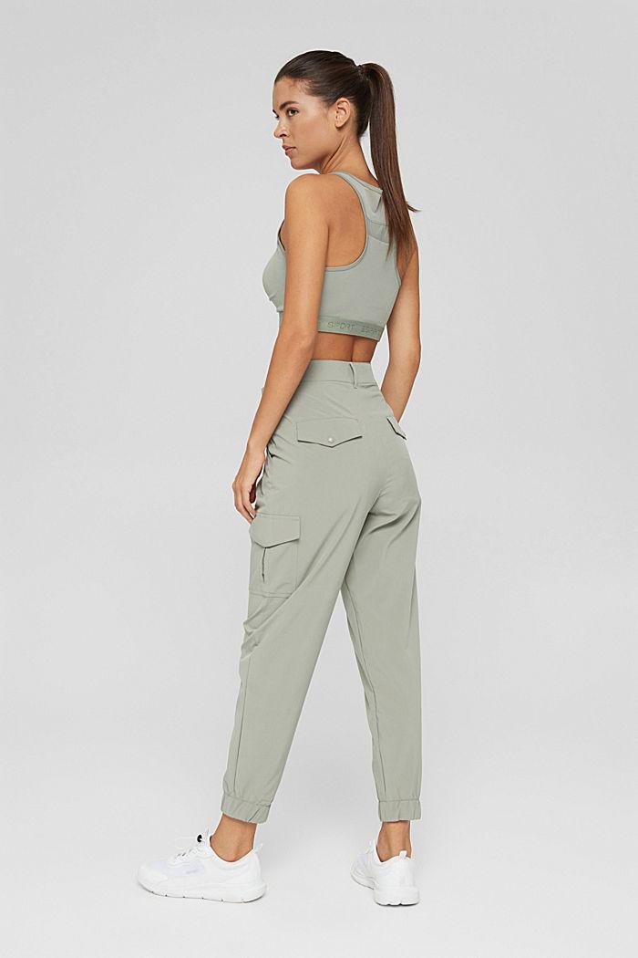 Pantalon à séchage rapide et quadri-extensible, LIGHT KHAKI, detail image number 3