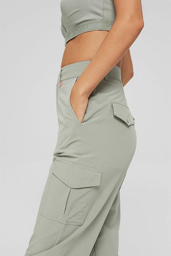 Pantalón de secado rápido en tejido elástico de 4 sentidos
