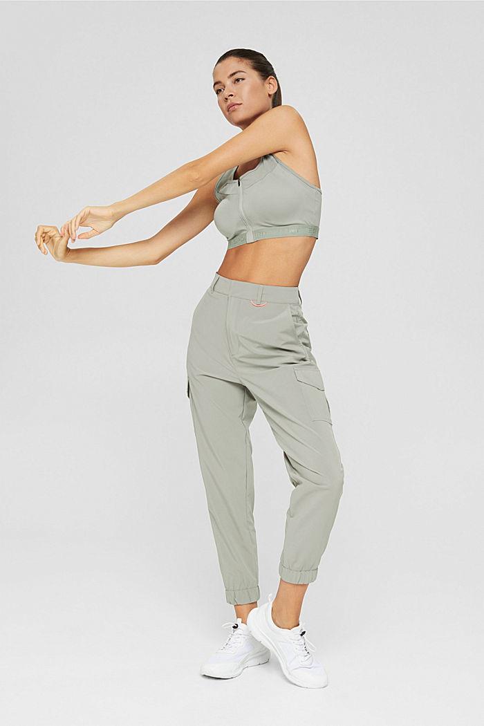 Pantalon à séchage rapide et quadri-extensible, LIGHT KHAKI, detail image number 1