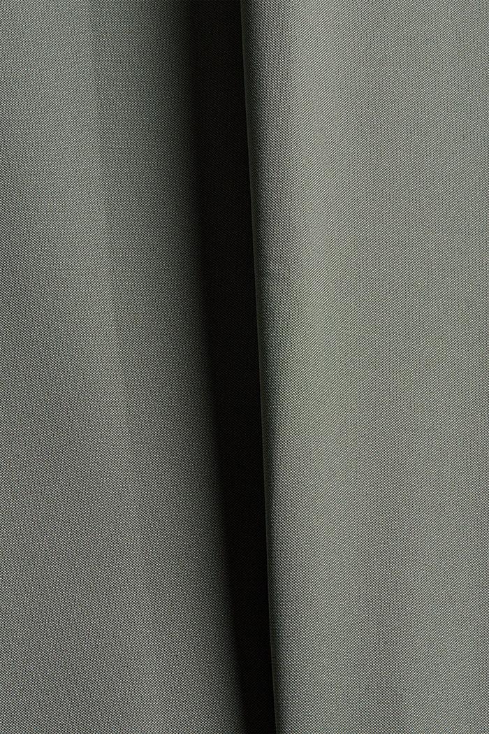 En matière recyclée: le pantalon de sport à coutures décoratives, DARK KHAKI, detail image number 4