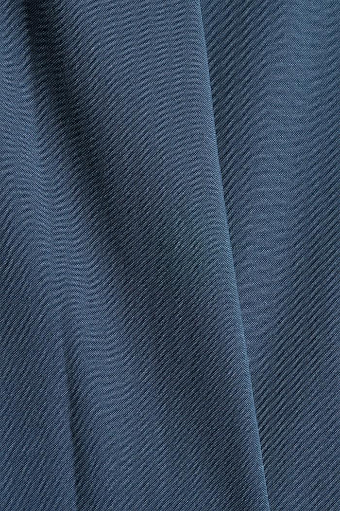 En matière recyclée: le pantalon de sport à coutures décoratives, NAVY, detail image number 4