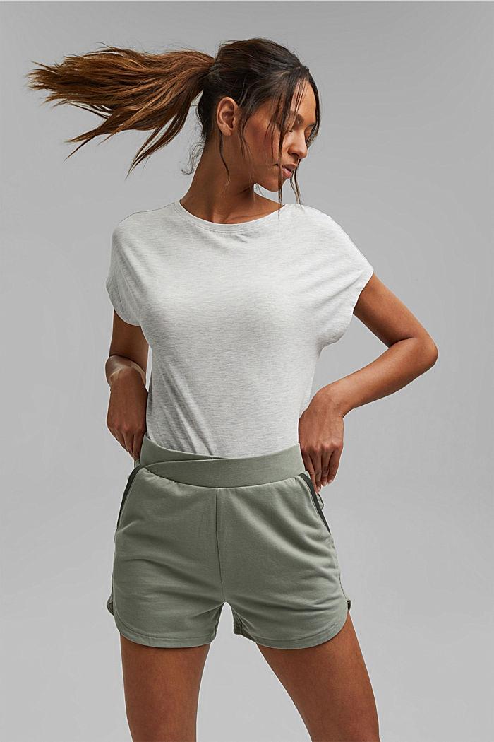 Sweat shorts made of organic cotton