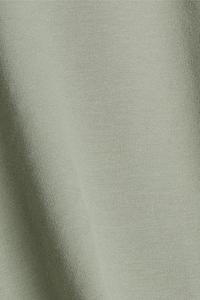 Sweatshorts aus Bio-Baumwolle, LIGHT KHAKI, detail image number 4