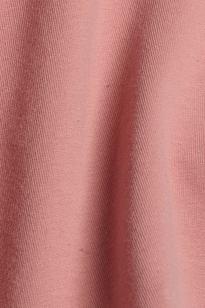 Sweatshorts aus Bio-Baumwolle, OLD PINK, detail image number 4
