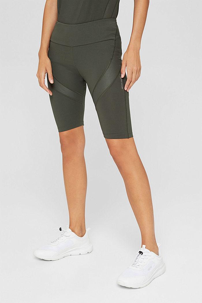 Active-Shorts mit verstecker Tasche, DARK KHAKI, detail image number 0