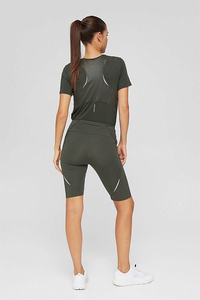Active-Shorts mit verstecker Tasche, DARK KHAKI, detail image number 3
