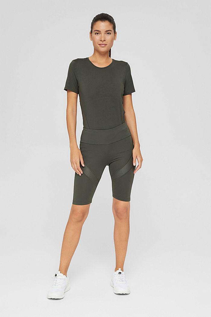 Active-Shorts mit verstecker Tasche, DARK KHAKI, detail image number 1
