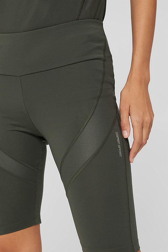 Active-Shorts mit verstecker Tasche, DARK KHAKI, detail image number 2