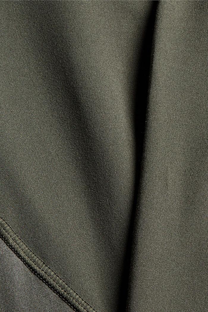 Active-Shorts mit verstecker Tasche, DARK KHAKI, detail image number 4