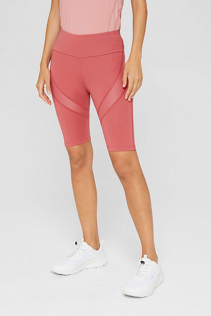Active shorts with a concealed pocket, BLUSH, detail image number 0