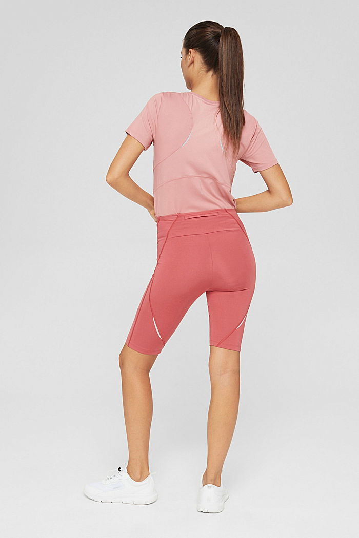 Active shorts with a concealed pocket, BLUSH, detail image number 3