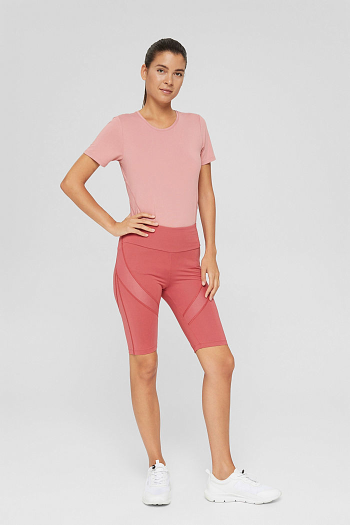 Active shorts with a concealed pocket, BLUSH, detail image number 1