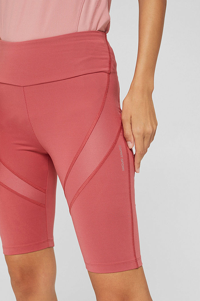 Active shorts with a concealed pocket, BLUSH, detail image number 2