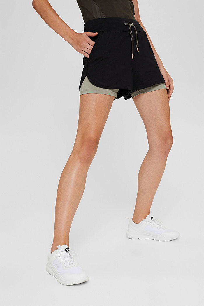 Gerecycled: double layered short