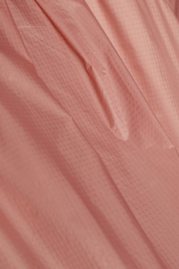 Water-resistant jacket with reflective details, OLD PINK, detail image number 4