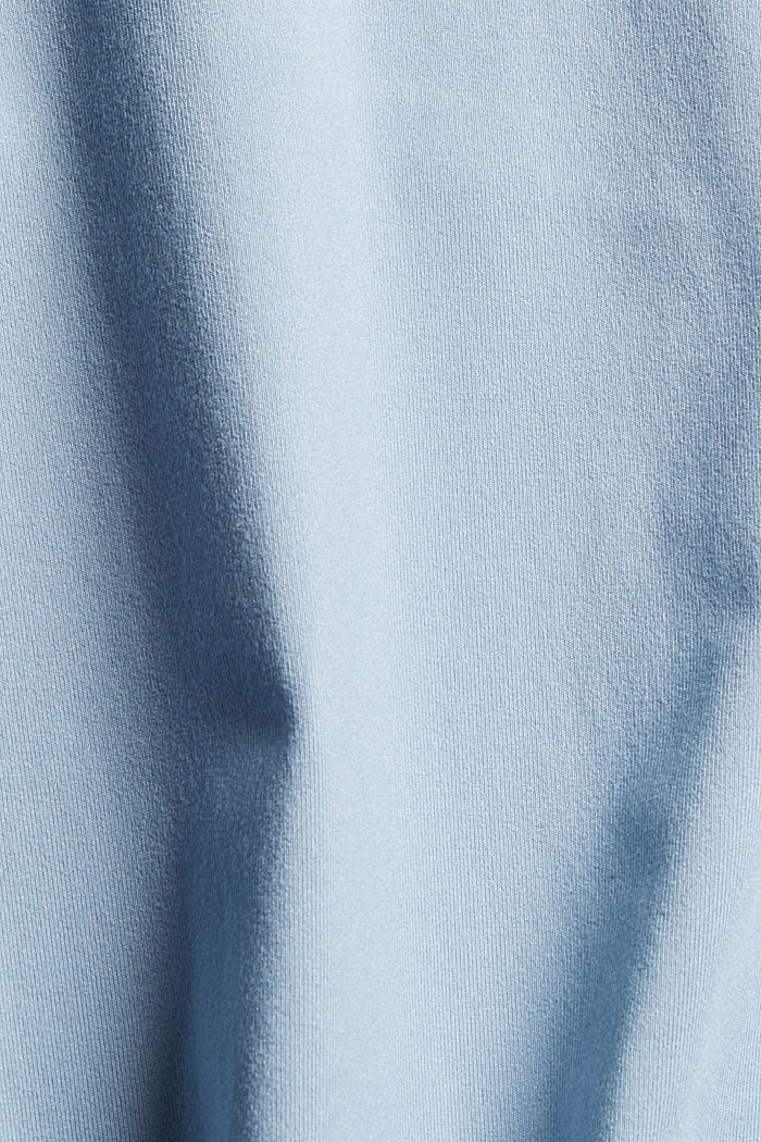 En matière recyclée: le t-shirt de sport doté de la technologie E-DRY, PASTEL BLUE, detail image number 4