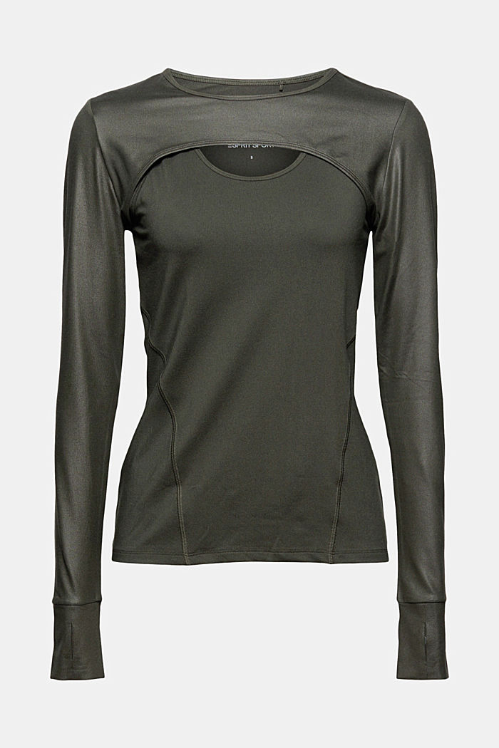 Gerecycled: 2-in-1 active top