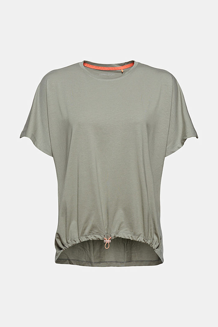 In cotone biologico/TENCEL™: maglia con coulisse