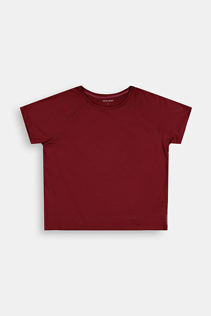 T-Shirts, BORDEAUX RED, detail image number 2