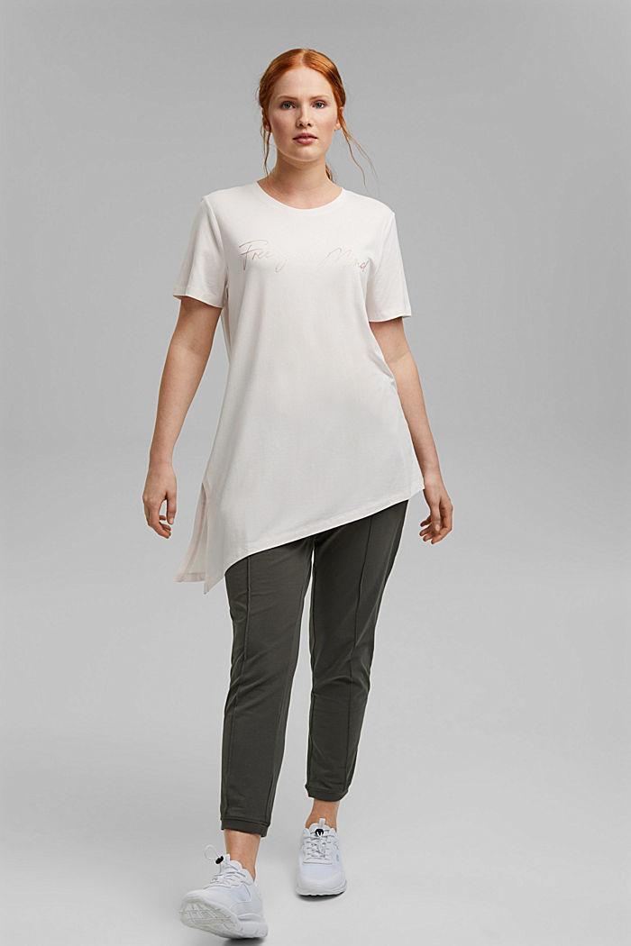 CURVY T-Shirt aus Bio-Baumwolle/TENCEL™:, PASTEL PINK, detail image number 6