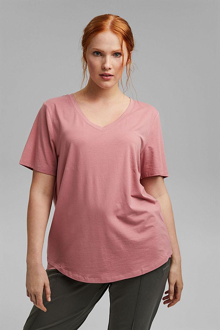 CURY T-Shirt aus Bio-Baumwolle/TENCEL™