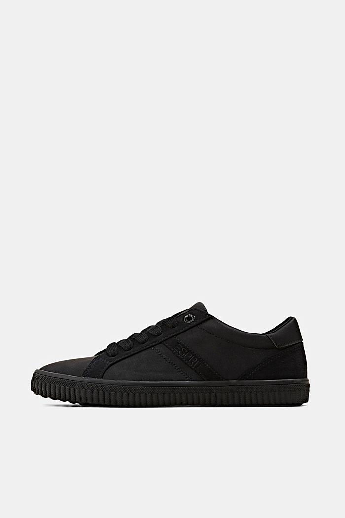 Sneakers in Lederoptik, BLACK, detail image number 0