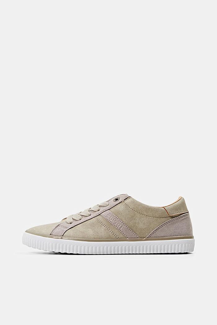 Sneakers van imitatieleer, TAUPE, detail image number 0